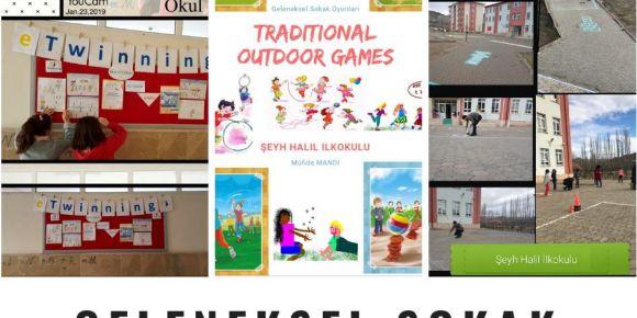 eTwinning Geleneksel Sokak Oyunları projesinde öğrenciler eğlenerek öğreniyor
