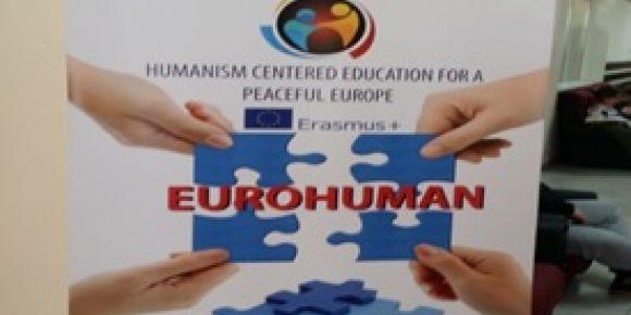 Erasmus + Eurohman Projesinin 1. Toplantısı gerçekleştirildi