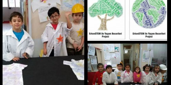 Serdivan Vilayetler Hizmet Birliği Anaokulu Yıldızlar Sınıfı Stem uyguluyor