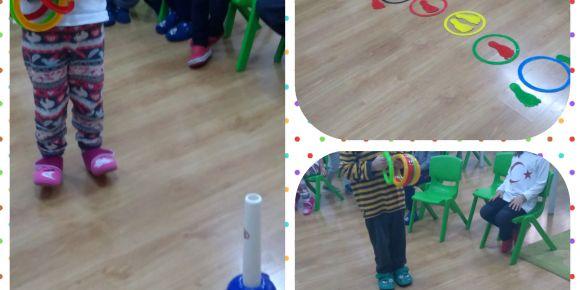 Etwinning Elim Sende Projesi kapsamında sınıfta hareketli oyunlar oynandı