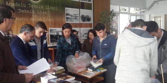 Altıeylül Kaymakamlığından Mimar Sinan Mesleki ve Teknik Anadolu Lisesine anlamlı destek