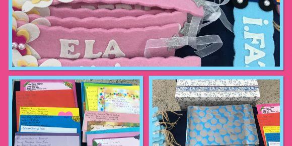 """Ankara'dan Konya'ya """"Mektup Arkadaşım"""" projesi hediyeleri"""
