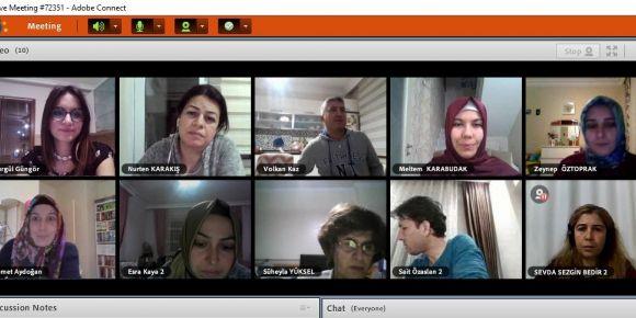 Proje ortakları webinarda buluştular