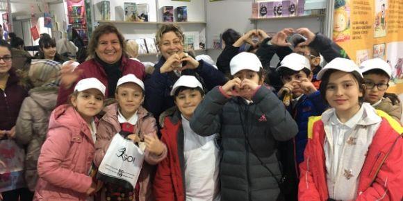Albay Niyazi Esen İlkokulu  Maltepe Kitap Fuarı'nda