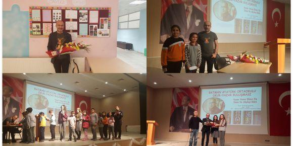 Okulumuzda Eğitimci ve Yazar Yavuz Ekinci ile imza ve söyleşi günü yapıldı