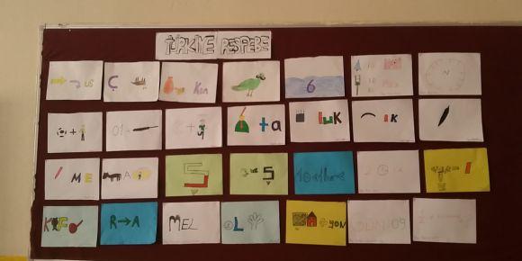 Mustafalar Şehit Volkan Çay öğrencileri resfebeliyor