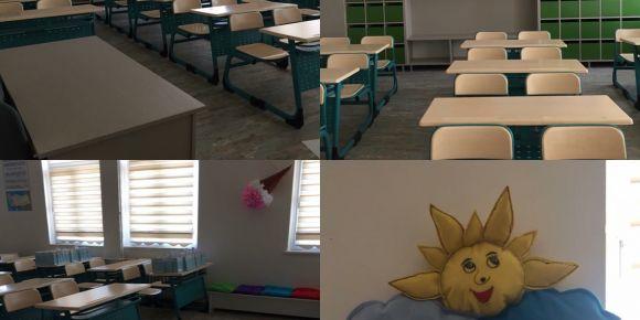 Didim Valiler İlkokulu 2_C Sınıfı sınıf dekorasyonu ile fark yarattı