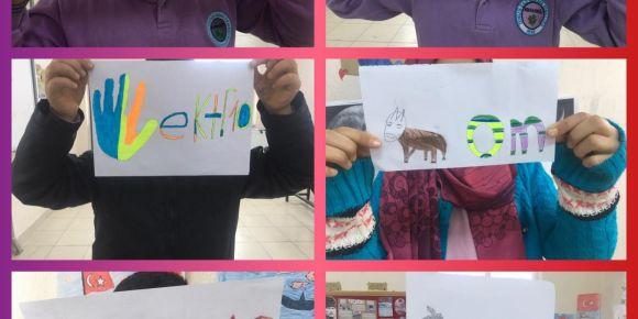 Zengen Gazi Mustafa Kemal Ortaokulu  eTwinning Resfebilmece projesi yapıyor