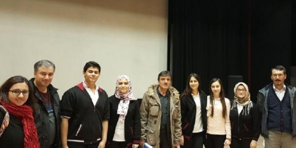 Erol Cumbul MTAL münazara yarışmasında yarı finalist