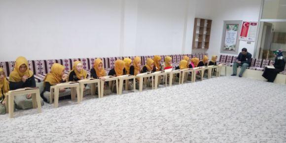 Genç Nida Kur'an-ı Kerim'i güzel okuma yarışması