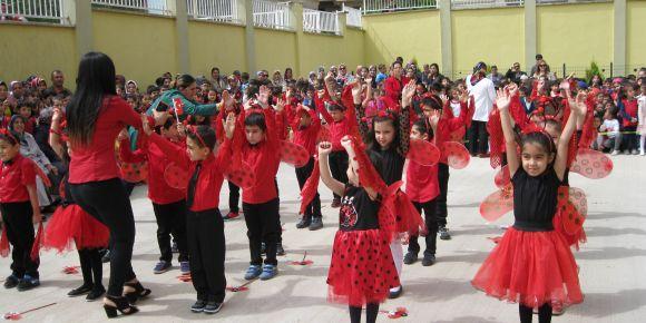 Okulumuzda Ulusal Egemenlik ve Çocuk Bayramını coşkuyla kutladık
