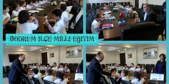 Bir Milyon Mavi Kurdele projesi Bodrum İlçe Milli Eğitim Müdürlüğünde