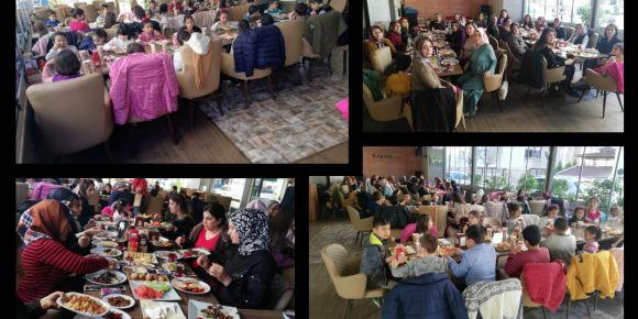 Velilerimiz ve öğrencilerimizle birlikte kahvaltı keyfi
