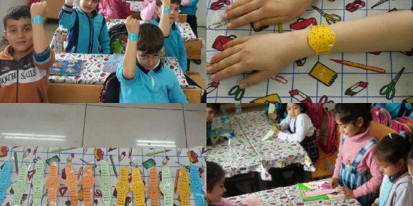 Sadettin Batmazoğlu İlkokulu 2 b sınıfı çarpım saati yapıyor