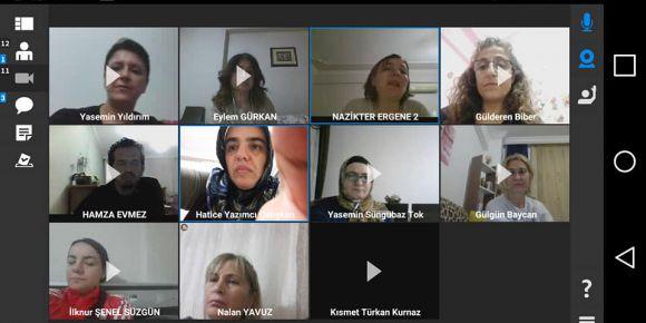 '81 Dilde Türkülemece '  eTwinning proje ortakları webinar etkinliği