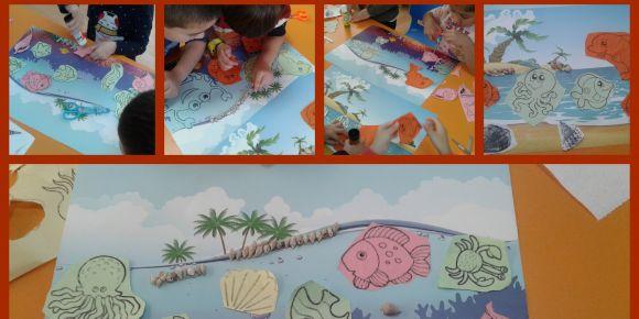 Vilayetler Hizmet Birliği Anaokulu Yıldızlar Sınıfı deniz canlılarını yaptı