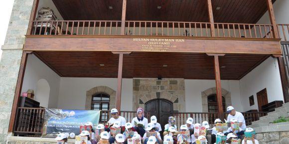 Tekke İlkokulu 'Okumak Yaşamaktır' E-twinning Projesine Katıldı