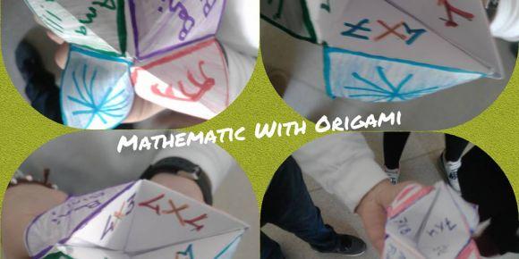 Origami sanatı ile matematik daha eğlenceli
