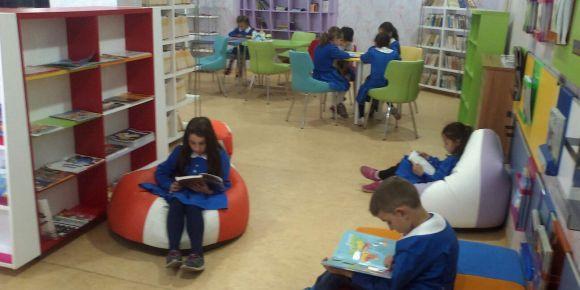 Kitap okumayı sevdiren kütüphane
