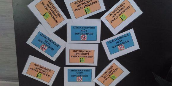 Toki Şehit Er Yılmaz Özdemir İlkokulu Tasarrufu Haftası Çalışmaları