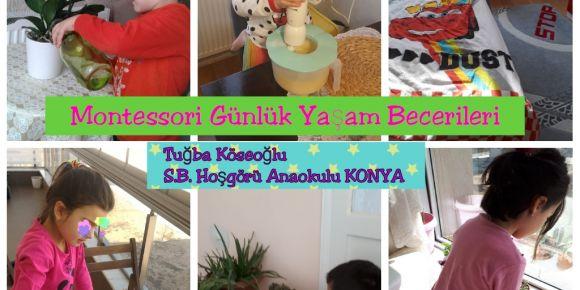 Montessori Günlük Yaşam Becerileri Projesi
