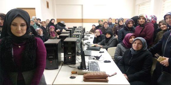 İnegöl Halk Eğitim Merkezi Girişimcilik te Önce Kadın Proje yarışması Hazırlığı