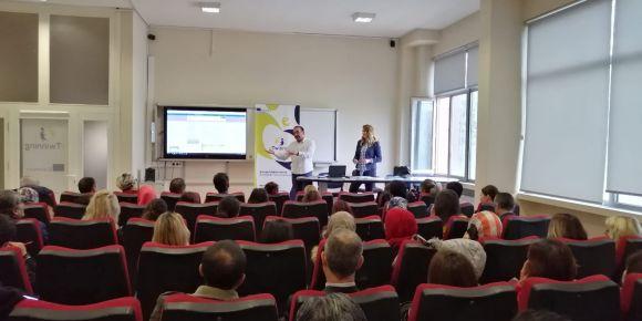 eTwinning bilgilendirme toplantısı yapıldı