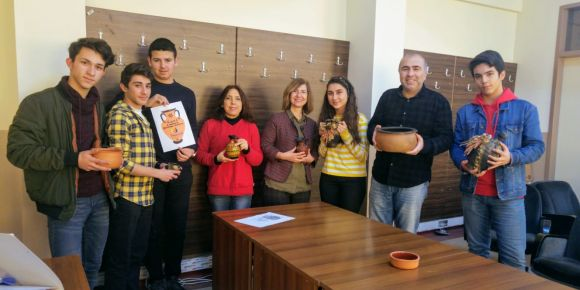 eTwinning A Cultural Heritage,Pottery