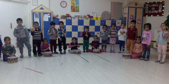 Nizip Anaokulu bir etwinning projesi  olan Türkülerimle Büyüyorum'a katıldı