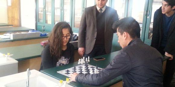 1. bahar satranç turnuvası yapıldı