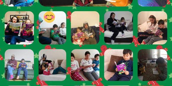 Aile okuma saati etkinliğimiz