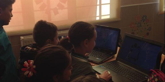 Necla Orhan İlkokulu'nun ilk etwinning projesi