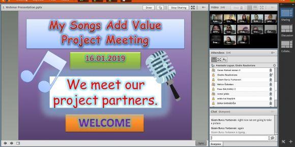 """""""My Songs Add Value"""" eTwinning projesi ile öğrencilerimize değer katacağız"""