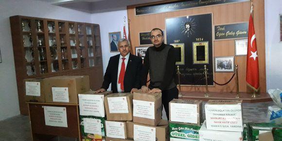 Yemen'e ambajlı kuru gıda yardımı kampanyası