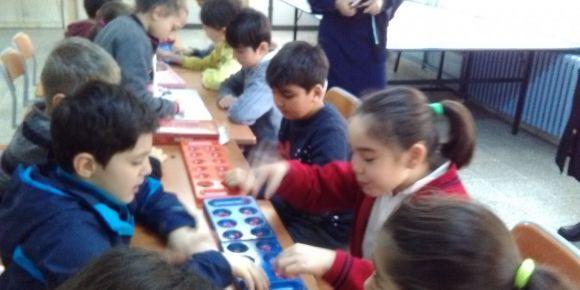 Paşalı Necati İlkokulu e-Twinning Projesi kapsamında mangala turnuvası düzenledi