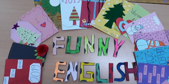 Funny English Yeni Yıl Kutlama