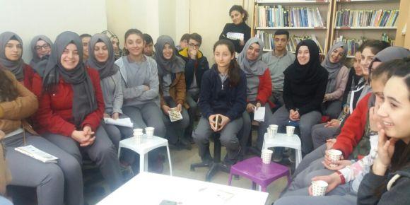 Asarcık Anadolu Lisesi öğretmeninle çay keyfi