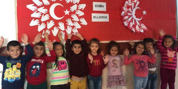 Milli birlik ve beraberlik panomuz