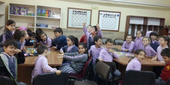 Çocuklarımız akıl oyunları sınıfında