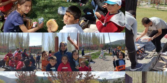 15 Temmuz Şehitler Parkı'nda öğrencilerimizle okul pikniği etkinliği