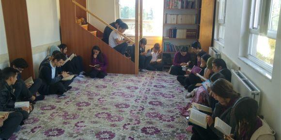 Yatağan Anadolu İmam Hatip Lisesi  Dost Kitaplar Dost Öğrenciler Okuma etkinliği