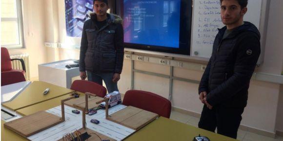 Öğrencilerimizin araştırma projesi Erzurum finallerinde