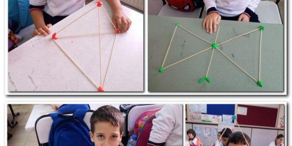 Geometrik şekillerle yaratıcılık