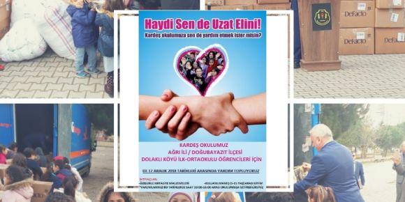 Sanayiciler İlkokulu Kardeş Okul projesi