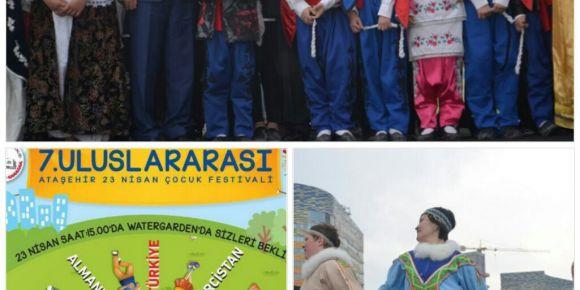 Uluslararası Ataşehir 23 Nisan çocuk festivali