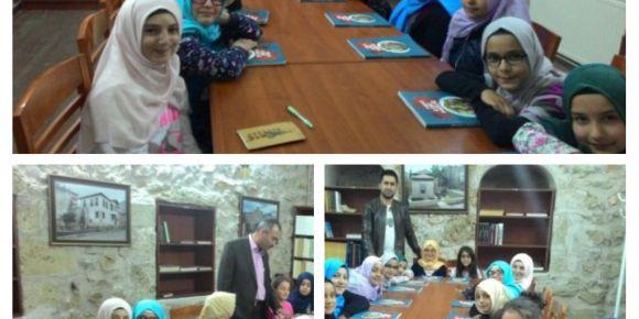Tokat Behzat-ı Veli İmam Hatip Ortaokulu 5B sınıfı öğrencilerinden anlamlı etkinlik