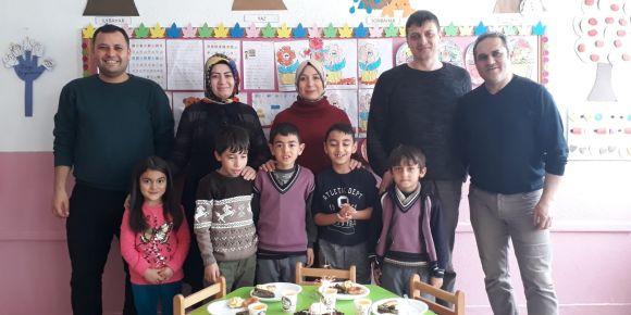 Şubat ayında doğan öğrencilerimizin doğum günlerini okulda kutladık