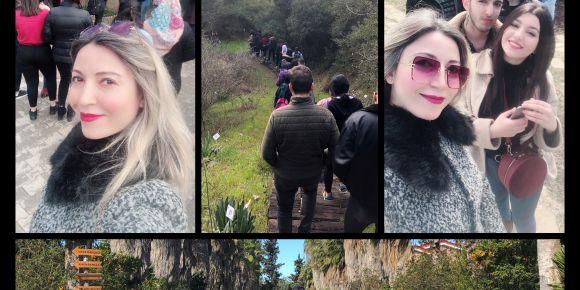 Çukurova Üniversitesi Ali Nihat Gökyiğit Botanik Bahçesine ziyaret