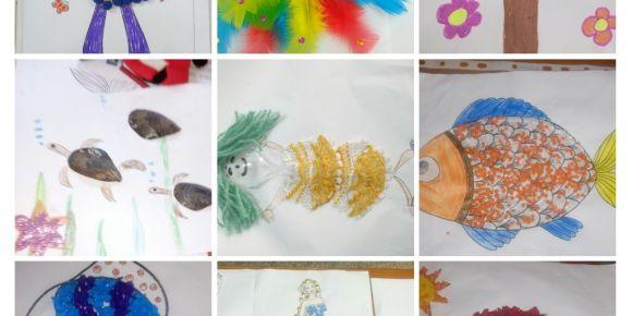 Objelerle çocuk sanatları