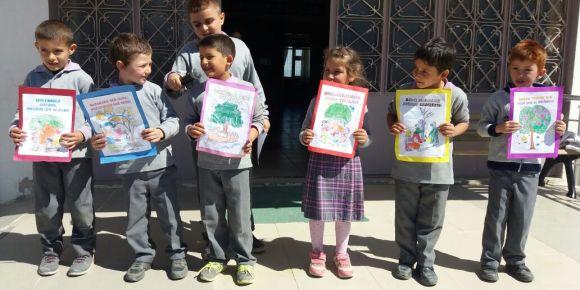 Banaz Şehit Veli Uludağ Derbent Ortaokulu Orman Haftası etkinlikleri